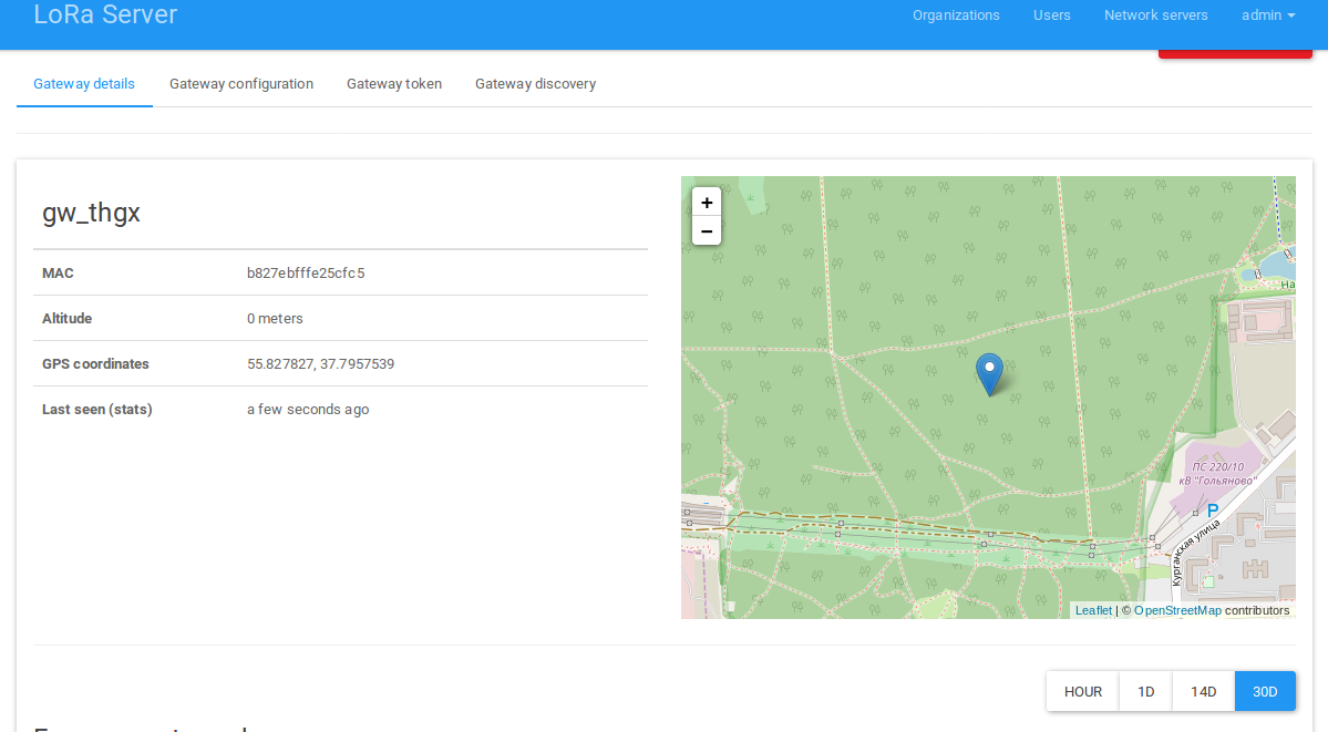 Lora App Server: GW GPS - LoRa App Server - LoRa Server forum