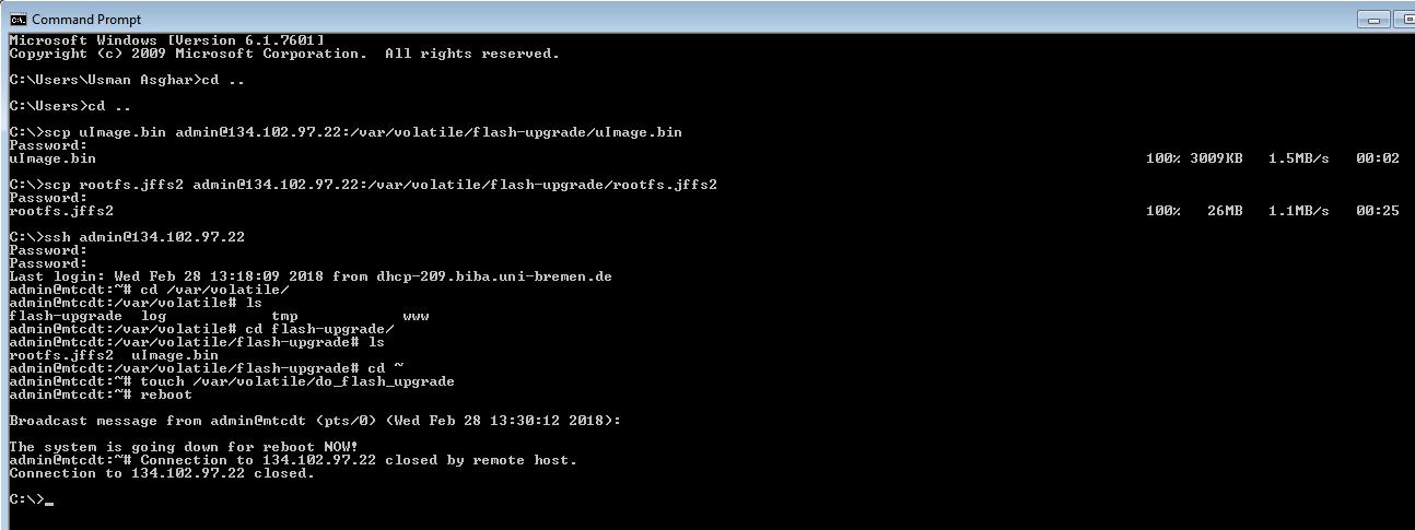 Multitech Conduit Conversion: AEP to mLinux - Gateways