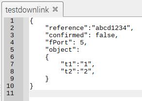 Problem with sending downlink via MQTT - LoRa App Server