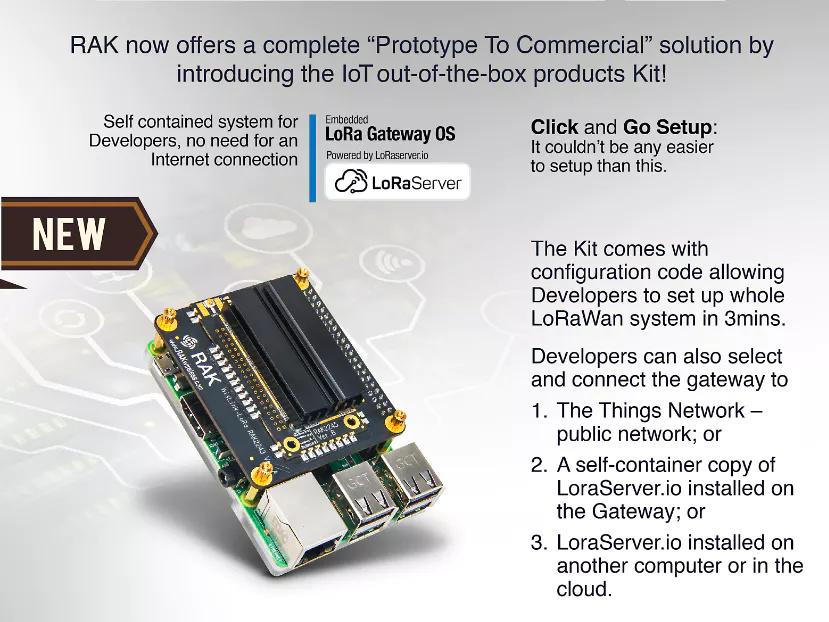 RAK2245 packet forwarder - Setup and configuration - LoRa