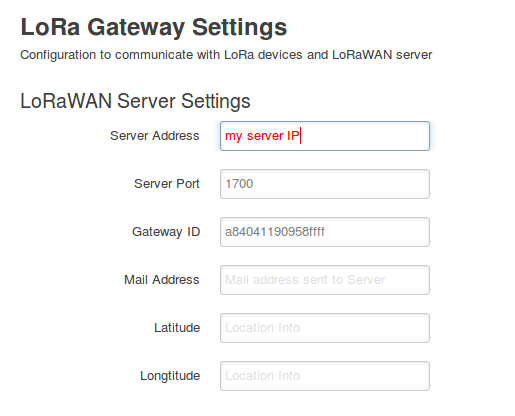 Unable to connect Dragino LG01 to lora server - Gateways - LoRa