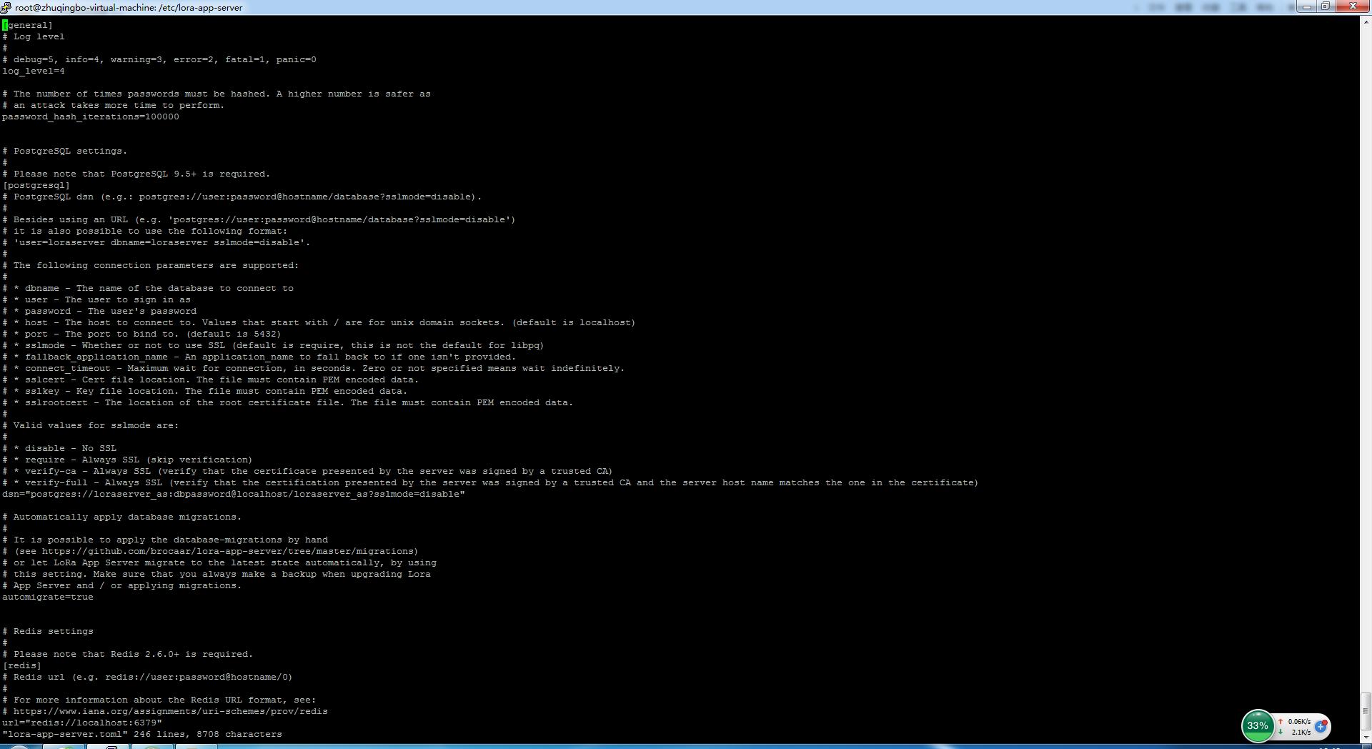 Lora App Server UI Problem - Setup and configuration - LoRa